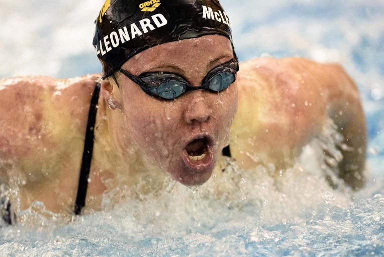Cowgirl Swim & Dive Opens Up with 155-145 Win over Northern Colorado