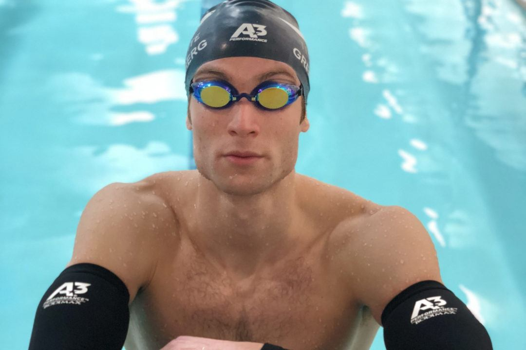 A3 Performance Signs Ivy League Sprint Champion Aaron Greenberg