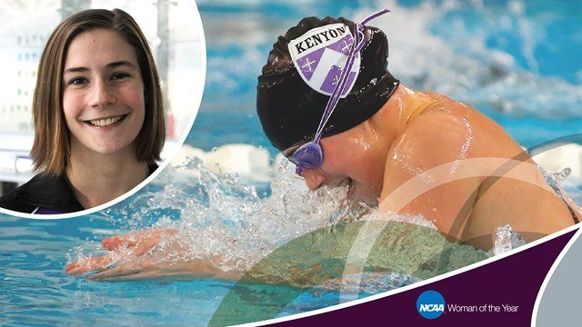 Harvard Diver, Kenyon Swimmer Named Top 30 for NCAA Woman of the Year
