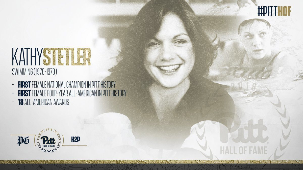 1978 National Champ Kathy Stetler Inducted into Pitt Hall of Fame