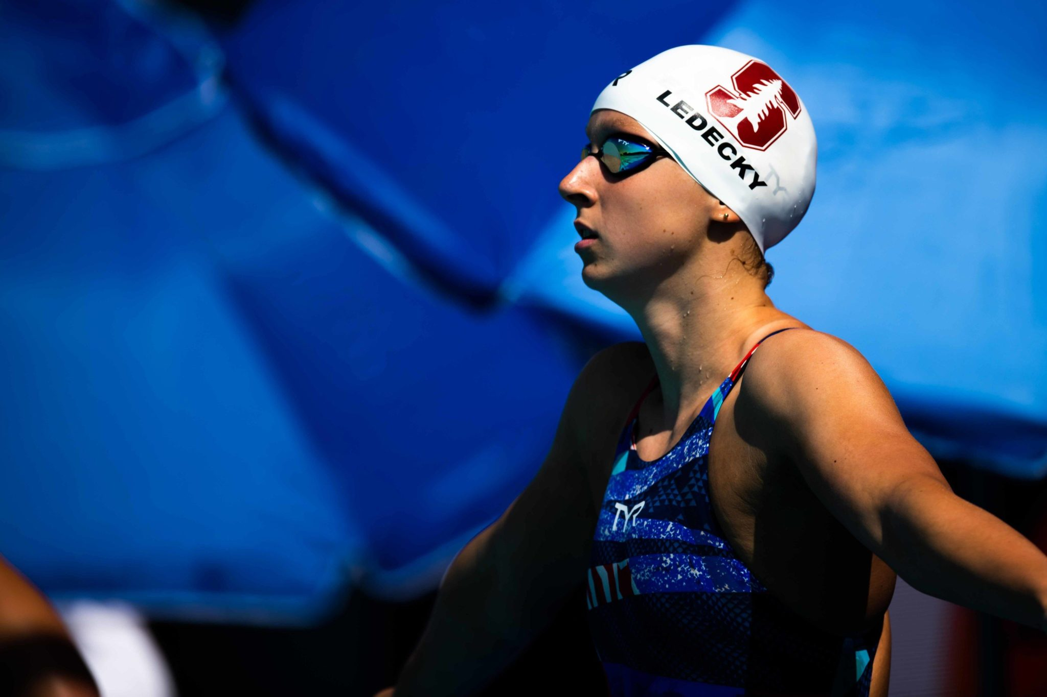 """Katie Ledecky """"Grounded in Training"""", Shines on Red Carpet"""