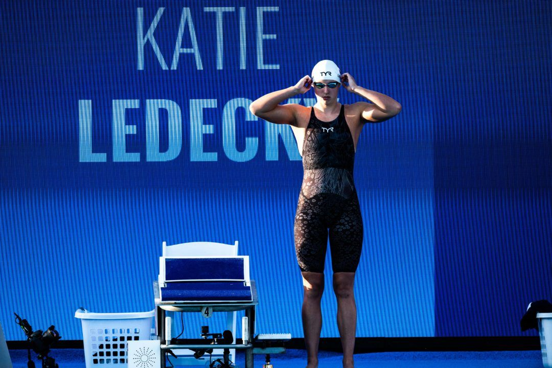 Katie Ledecky To Be Featured In New Apple Series 'Greatness Code'