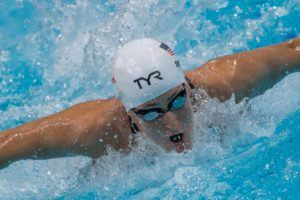 Leah Smith Sprints Stroke 50s, 100 IM at Fort Collins Area Swim Team Intrasquad
