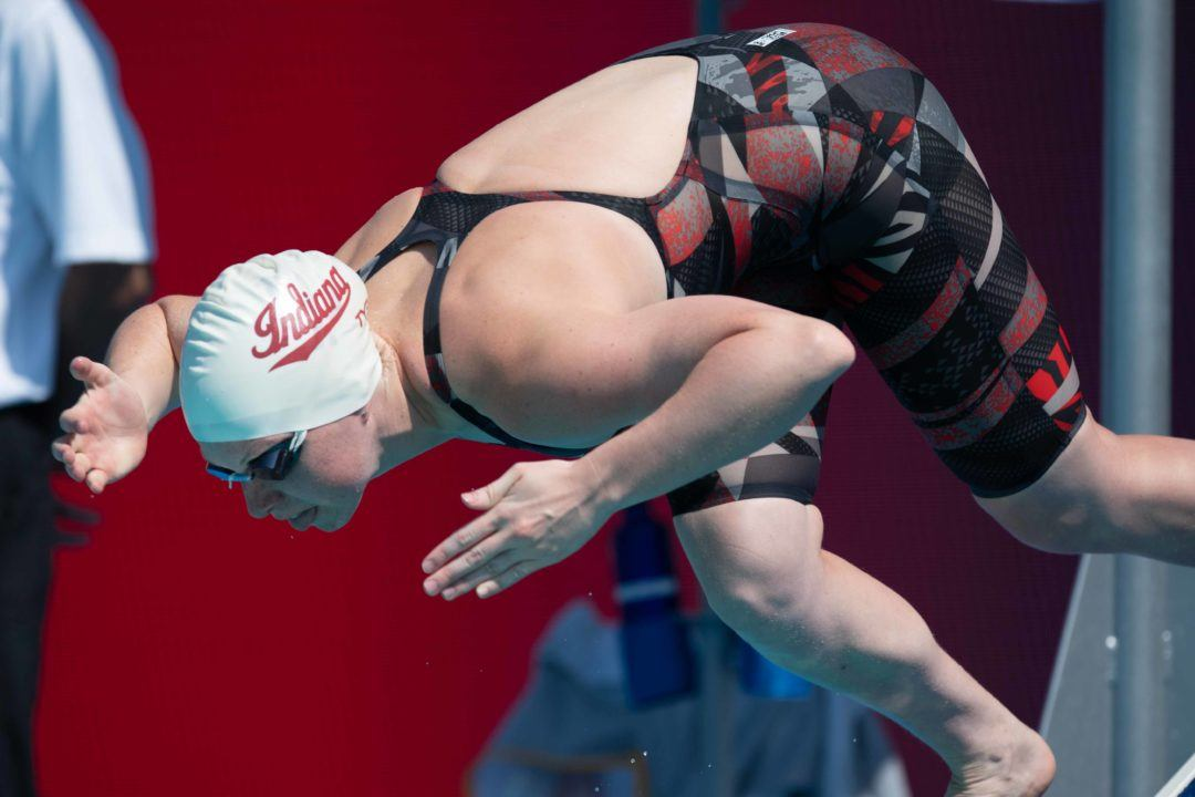 Lilly King Hits Quickest-Ever 200 Medley BR Split at B1Gs – 25.36