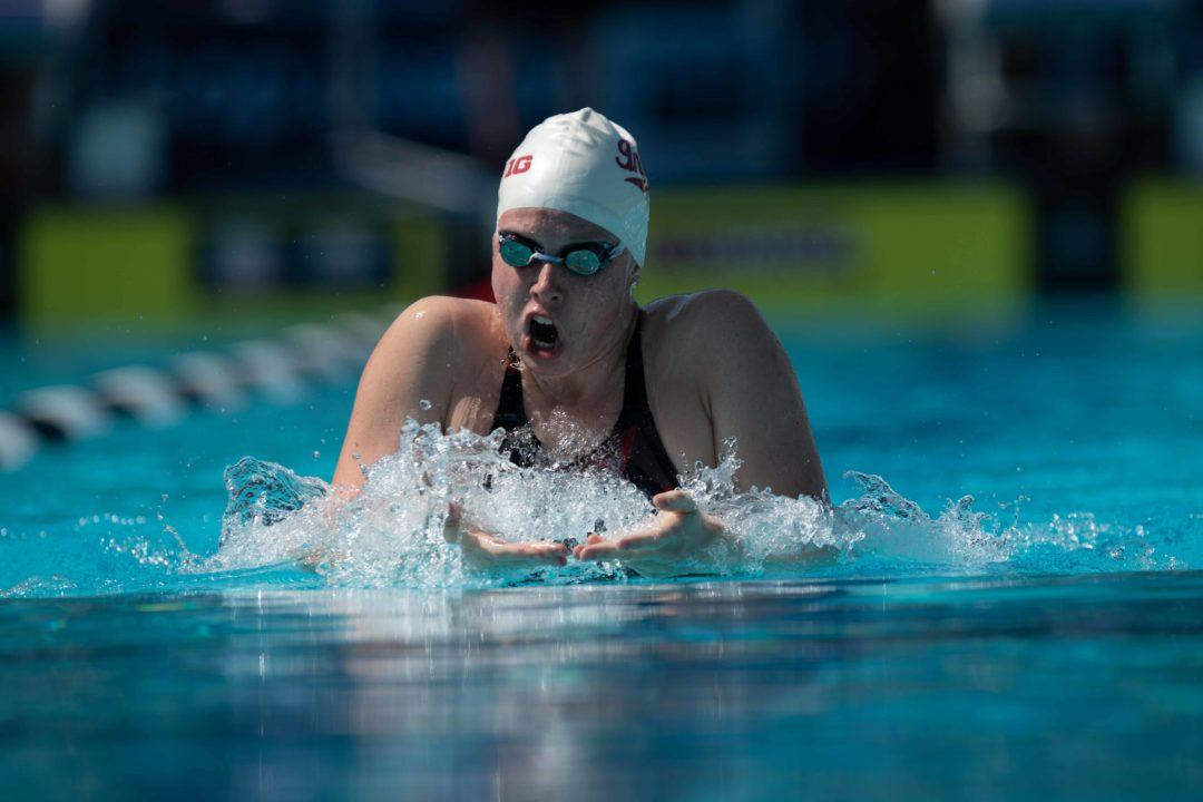 Lilly King Posts 59.7 100 Breast In IU Quad With UK, ND, and Mizzou