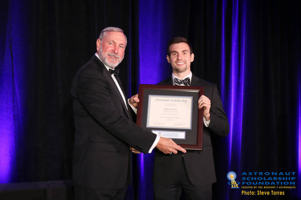 LSU's Petras Receives Astronaut Scholarship