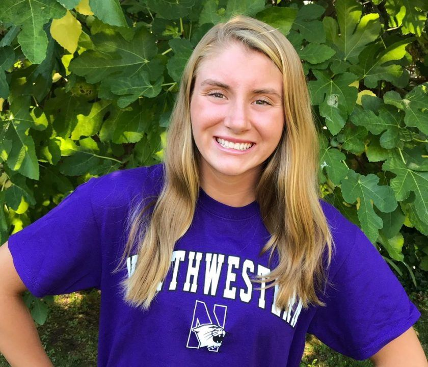 NCS Finalist Lizzy Follmer Verbally Commits to Northwestern