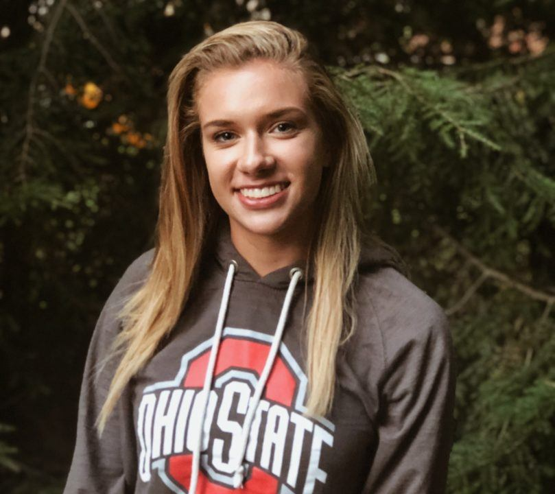 Breaststroker Leah Baker Verbally Commits to Ohio State