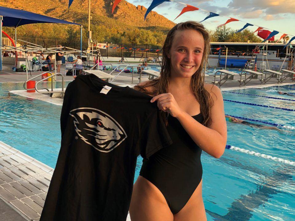 OSU Beavers Score Verbal Commitment from Haley Mayhew