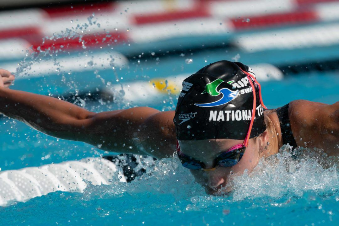 Regan Smith, Simone Manuel & Taylor Ruck On Knoxville PSS Psych Sheets