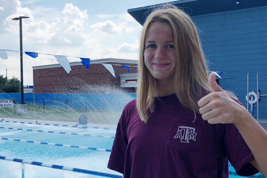 A&M Picks Up 3rd In-state Verbal from Grace Wey