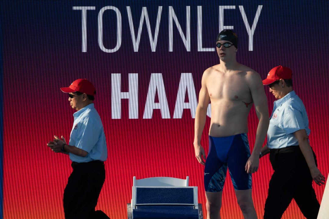 Townley Haas Posts 1:48 200 Free at Longhorn Invite Night 2