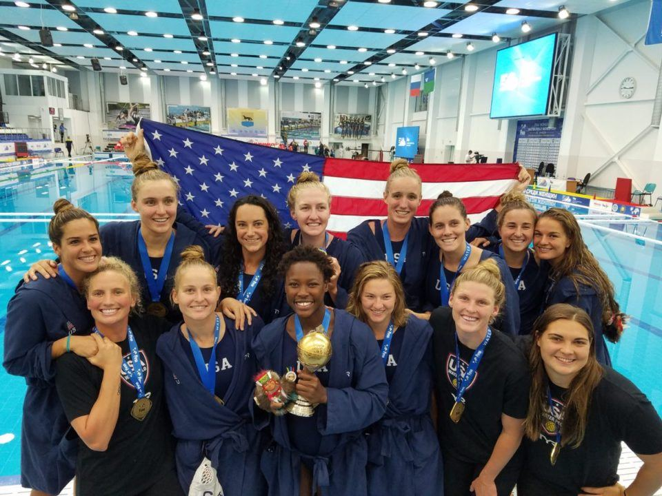 USA Women Win 3rd-Straight Final World Cup Title, Top Russia 8-5