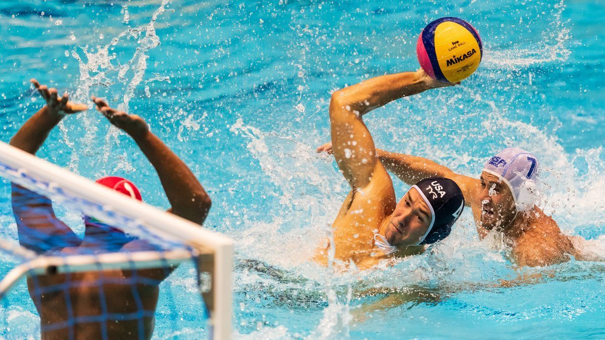 USA Men Pick Up First Win at FINA World Cup, Topping South Africa 15-6