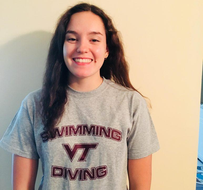 Backstroker Lara Siebrecht Transfers from Gardner-Webb to Virginia Tech