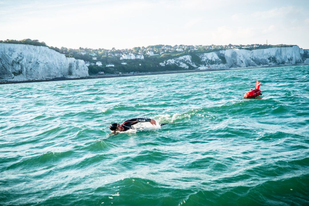 Ross Edgley Sets WR Swimming 900-Mile Length of Britain