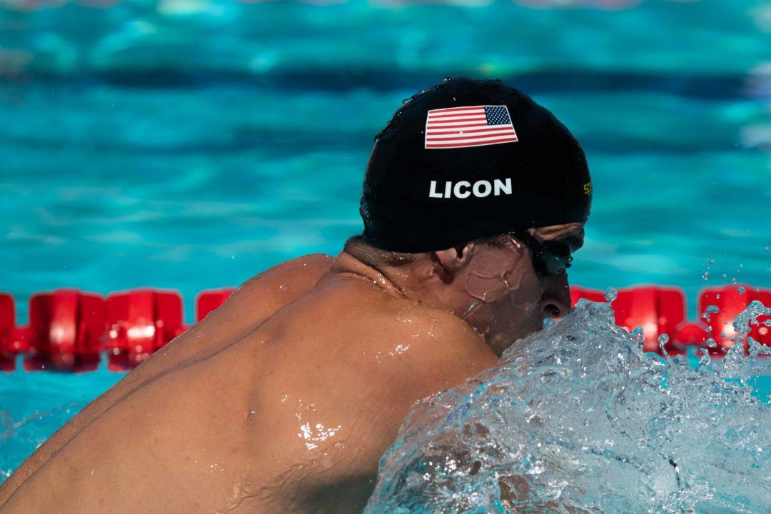 Licon Posts Prelims 1:59 IM, Scratches Finals on Final Day of Austin Sectionals