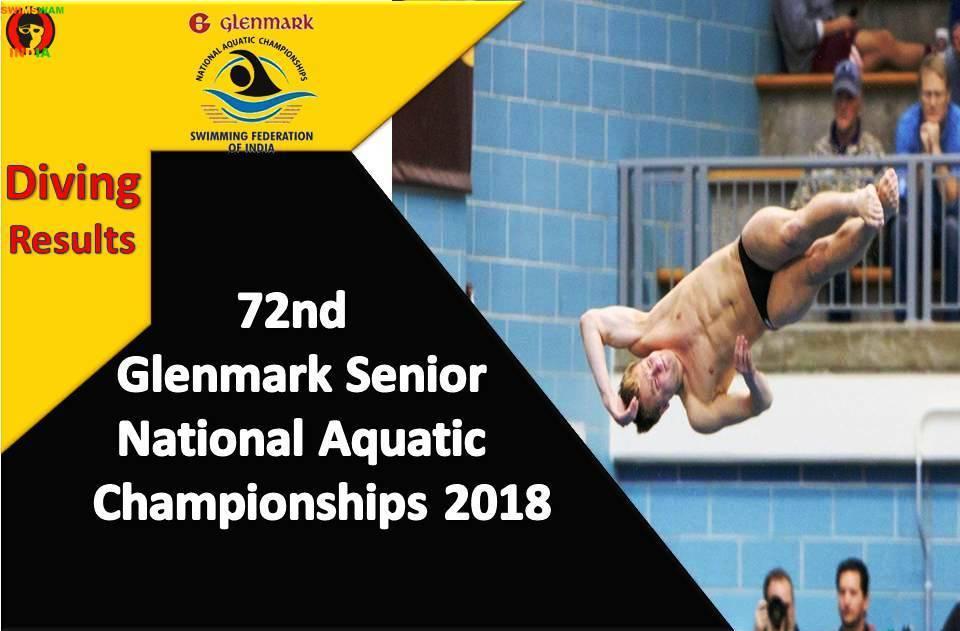 72nd Glenmark Senior NAC 2018 – Diving Results