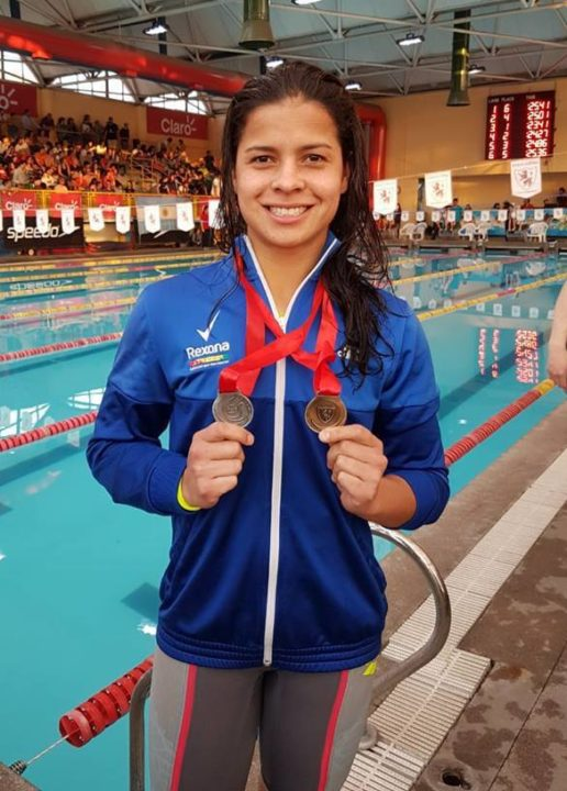 Bolivian Karen Torres Breaks 2 National Records