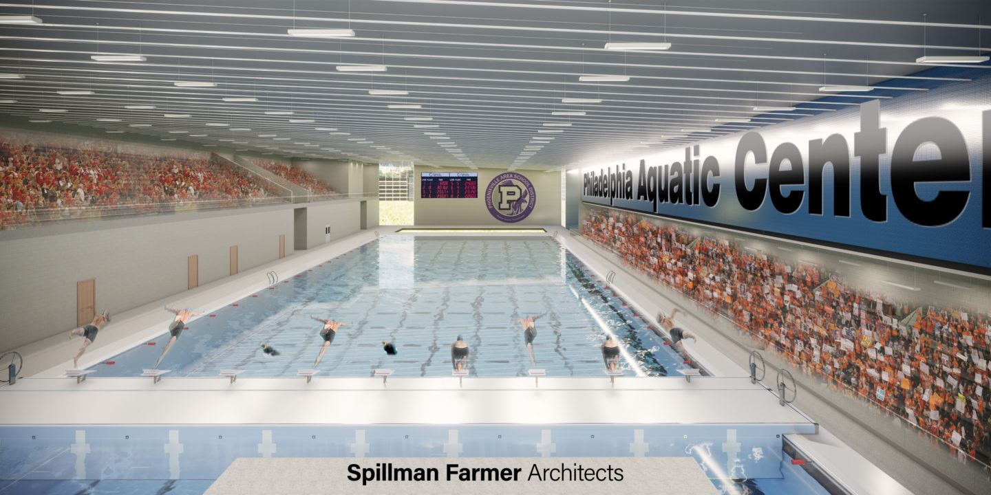 Phoenixville Schools Partner with Non-Profit to Build $25 Million Aquatic Center