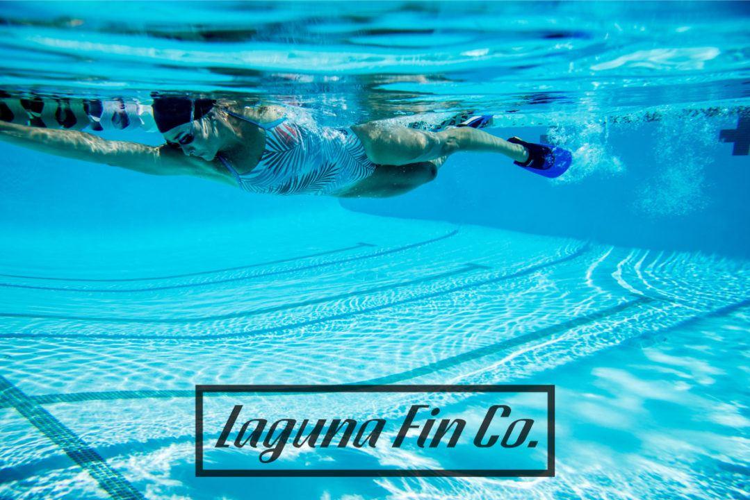 Laguna Fin Teams With Olympic Gold Medalist Kaitlin Sandeno