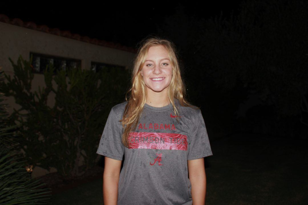 IMer Sydney Carlson Verbally Commits to Alabama