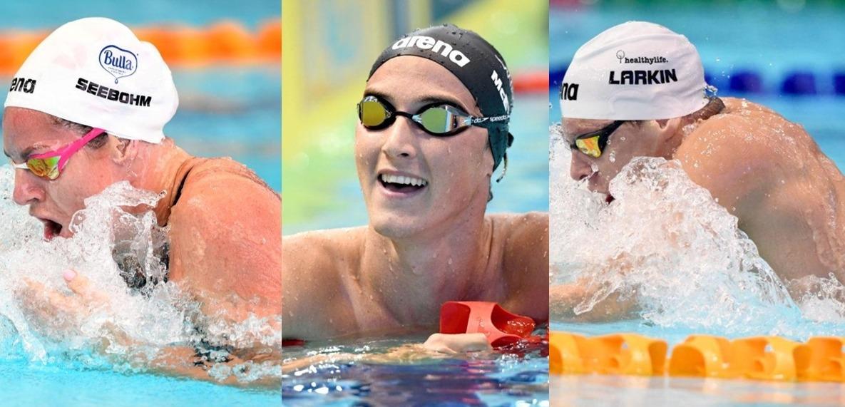 Seebohm, McEvoy, Larkin capitanean el equipo australiano para Hangzhou
