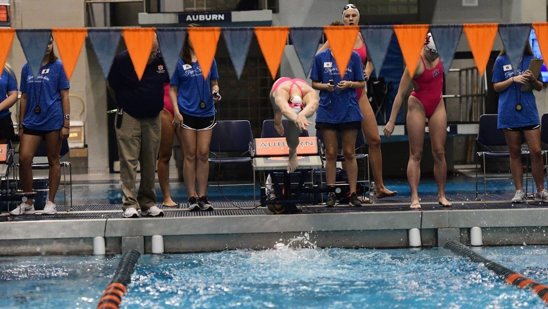 Auburn's Fisch Named SEC Co-Swimmer of the Week