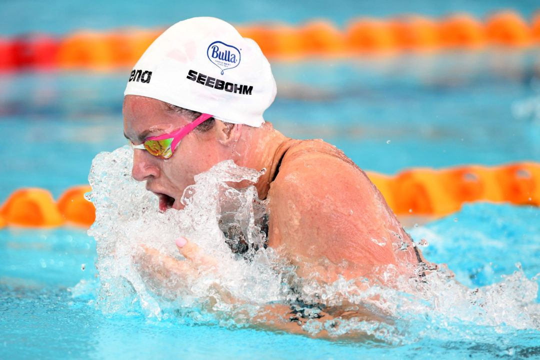 Emily Seebohm Holds on to 50 Breaststroke Entry on Start Lists