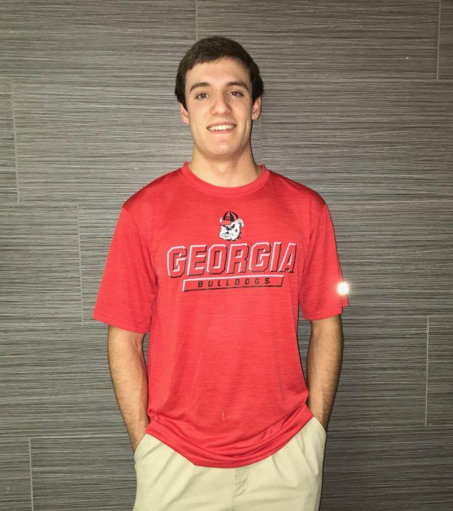 Sprint Freestyler Dillon Downing Verbally Commits to Georgia