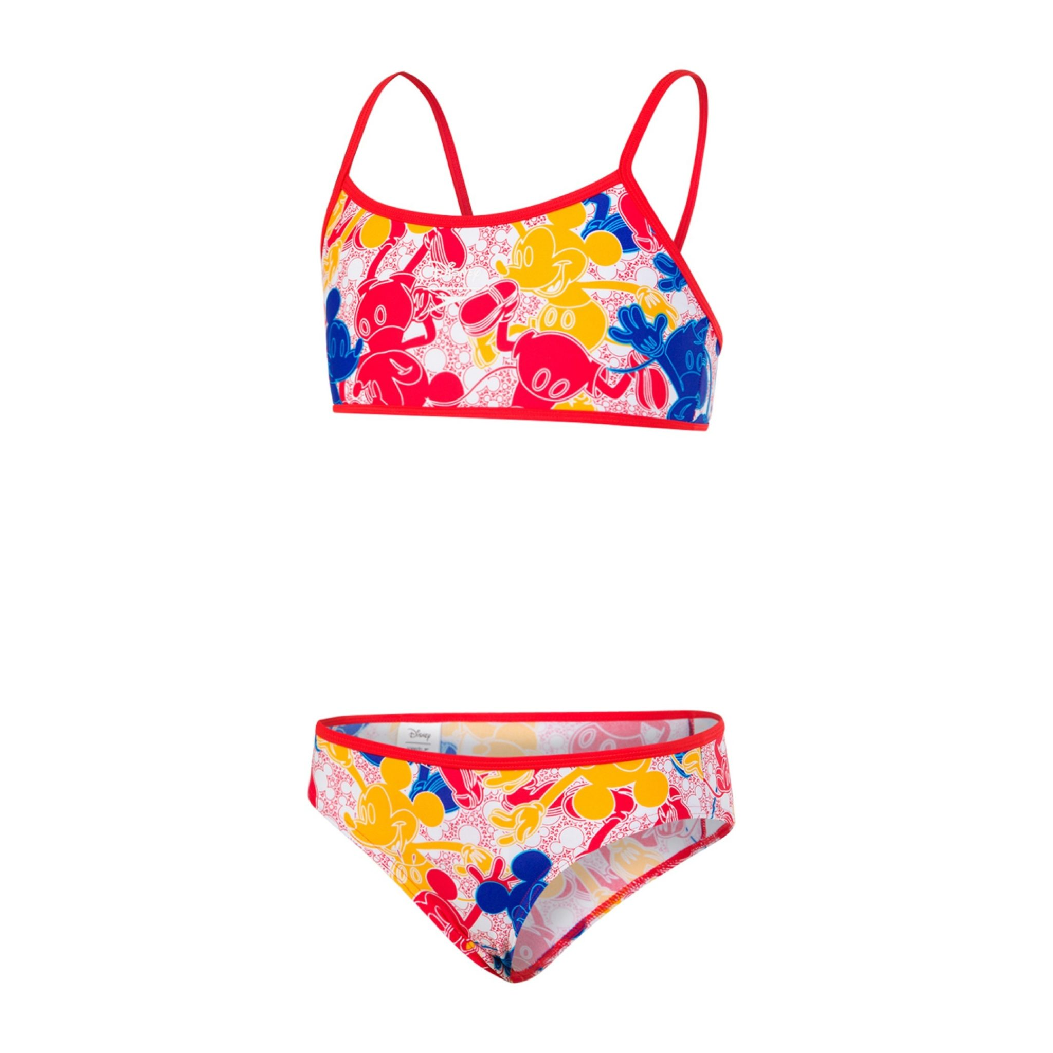 388ca6da7f08 Disney Mickey Mouse Allover Two Piece available from www.speedo.com