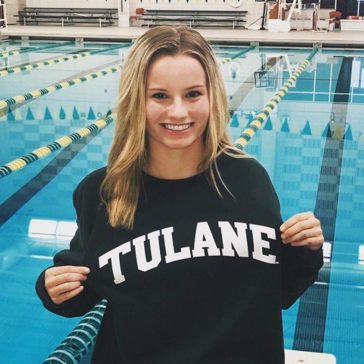 Tulane Picks Up Verbal Commitment from Y-Nats Finalist Hailey Roberti