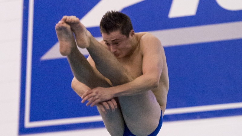 Duke's Moretti Tabbed as ACC Men's Diver of the Week