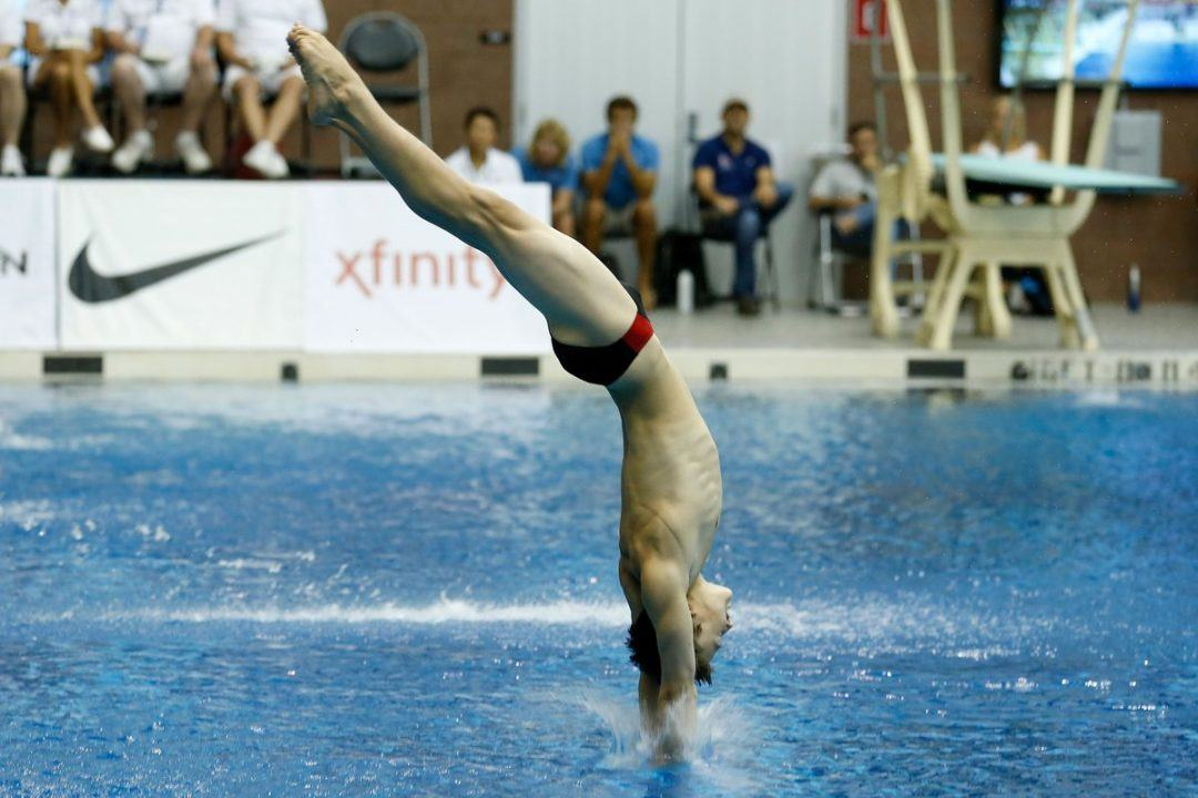 USA Diving Names Youth Olympic Games Team