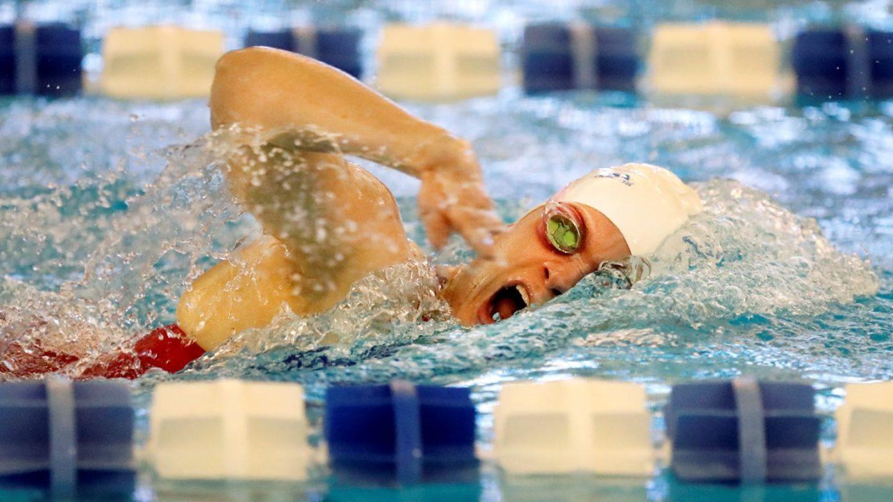 Kansas' Nusbaum Tabbed as Big 12 Swimmer of the Week