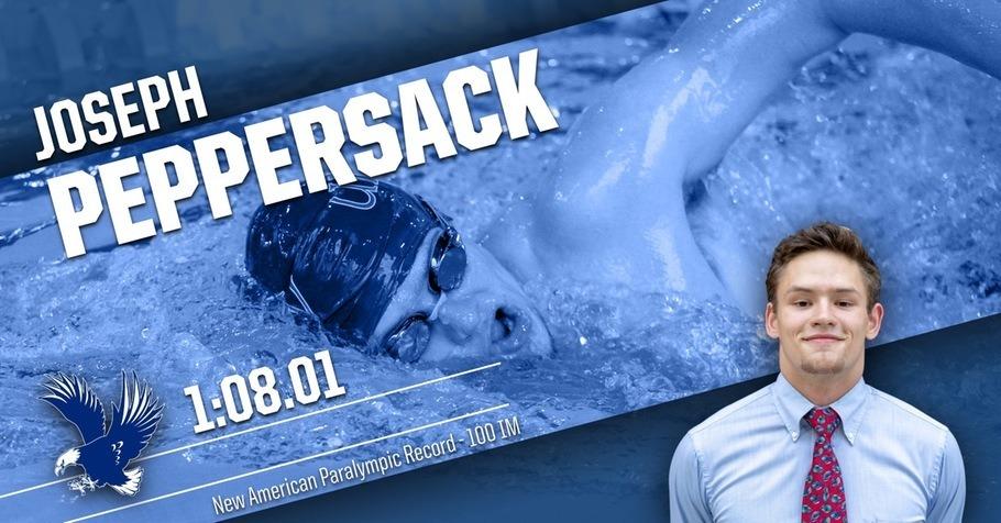 Joseph Peppersack Breaks American Record in SM8 100 IM at Dual Meet