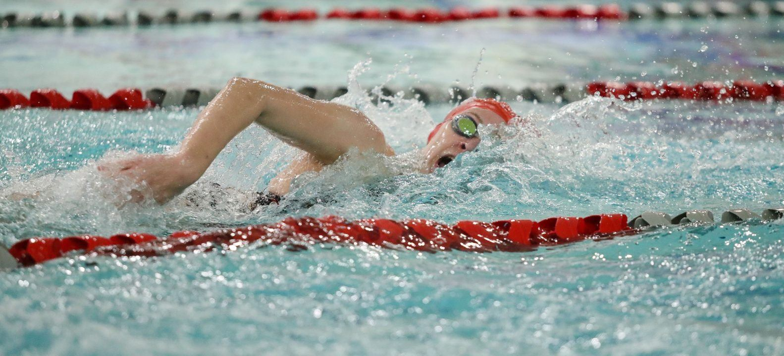 Lauren Somers Earns Back-to-Back NEC Swimmer of the Week Honors