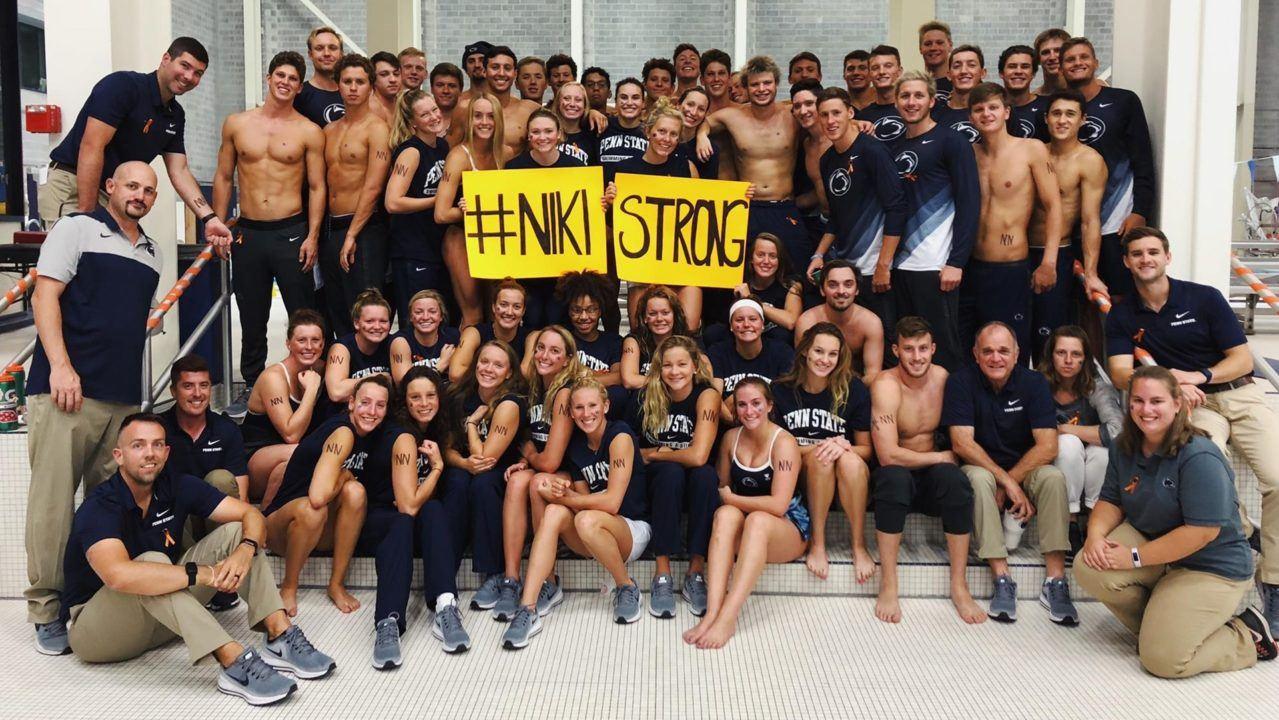 Penn State Announces #NikiStrong Fundraiser