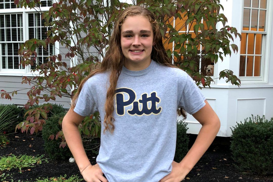 NJ Sprint Free/Breast Specialist Kate Fuhrmann Sends Verbal to Pitt