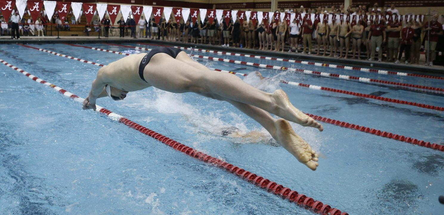 Alabama's Robert Howard Tabbed as SEC Swimmer of the Week
