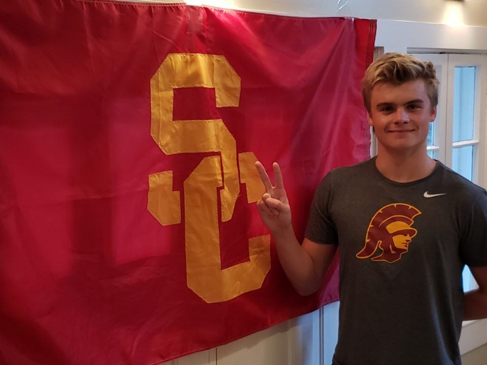 USC Secures Verbal from In-state Sprinter Max Saunders