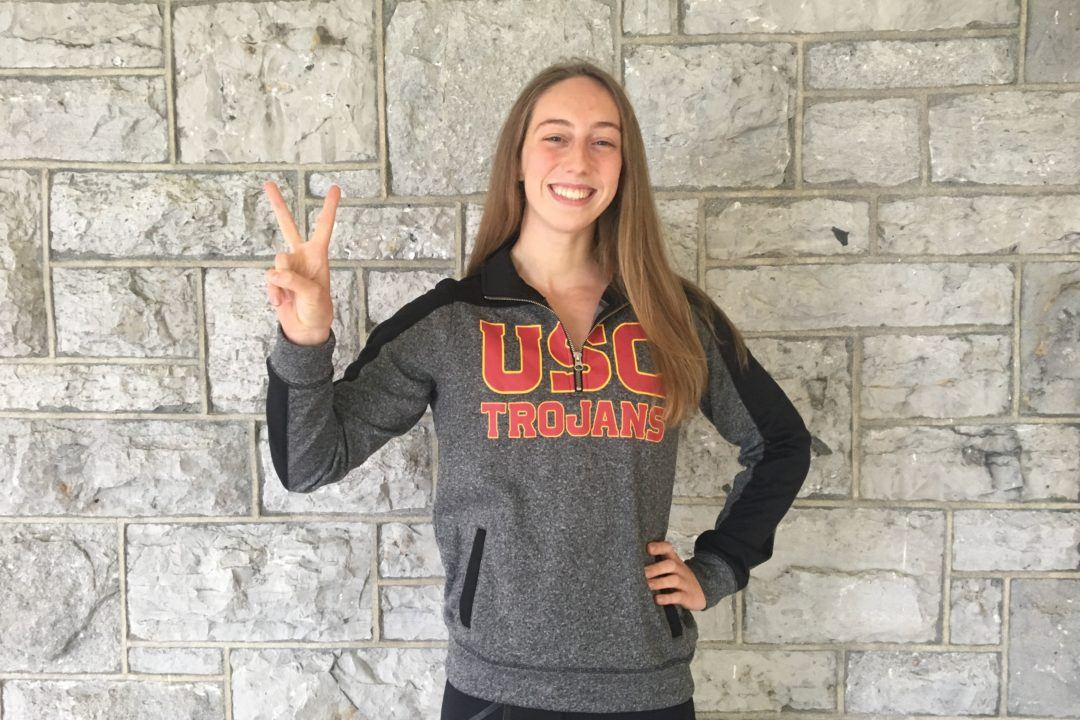 USC Trojans Nab Verbal from Canadian Back/Breast/IMer Aëla Janvier