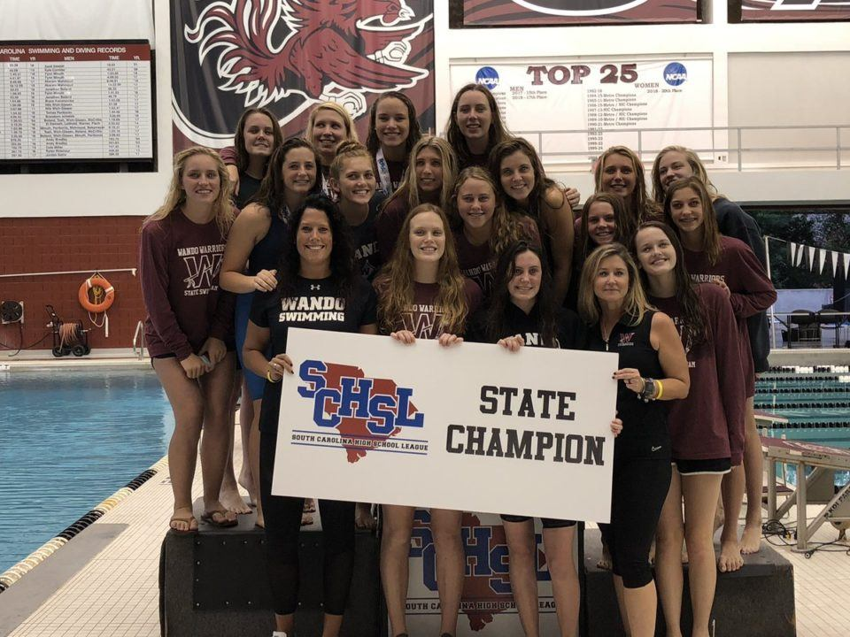 Wando Sweeps Both Titles Again at 2018 SCHSL 5A Championships