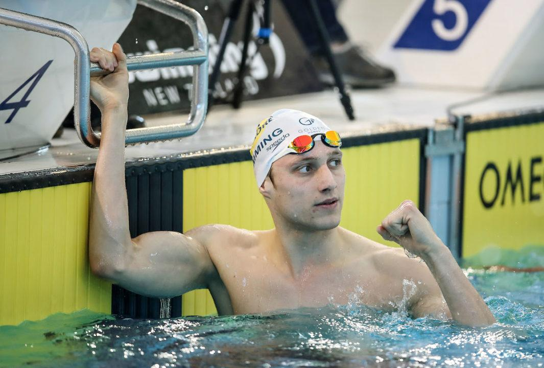 Kiwi Ashby Lowers Own 200 IM National Record