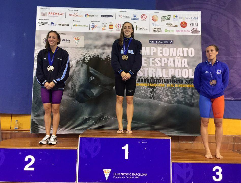 Campeonato España p25m día 1: Jessica Vall y Cata Corró hacen mínima