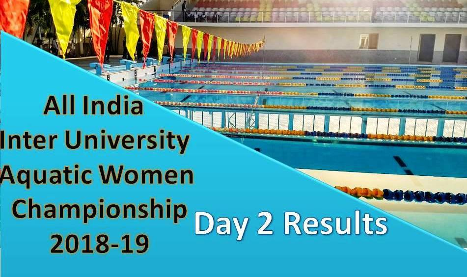:All India Inter University Women Championship 2018 – Day 2 Results
