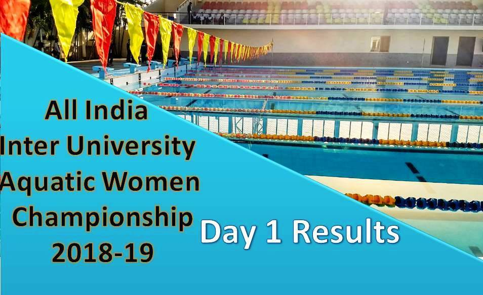 All India Inter University Women Championship 2018 – Day 1 Results