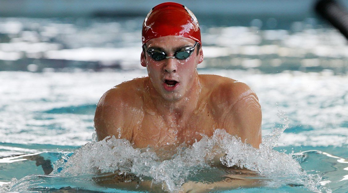 3 More Team Records for Utes on Friday; McHugh Swims 52 in 100 Breast