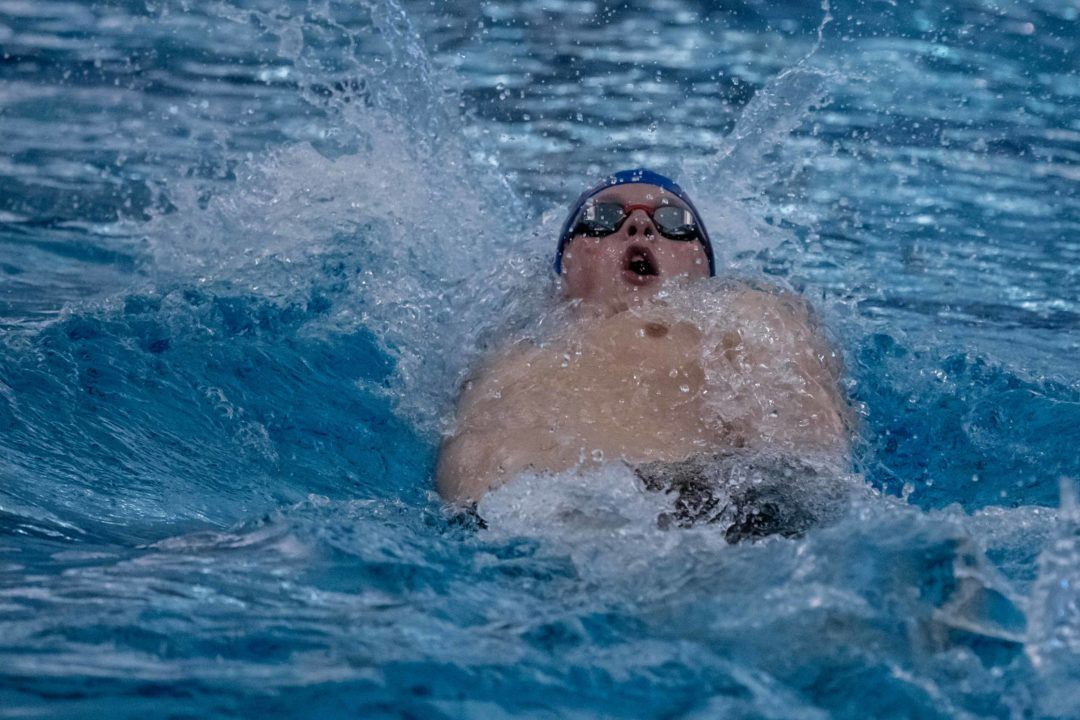 Cole Pratt Breaks Javier Acevedo's 100 Back National Age Group Record