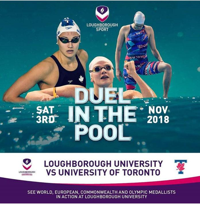 WATCH LIVE: Loughborough U. vs. U. of Toronto Dual Meet